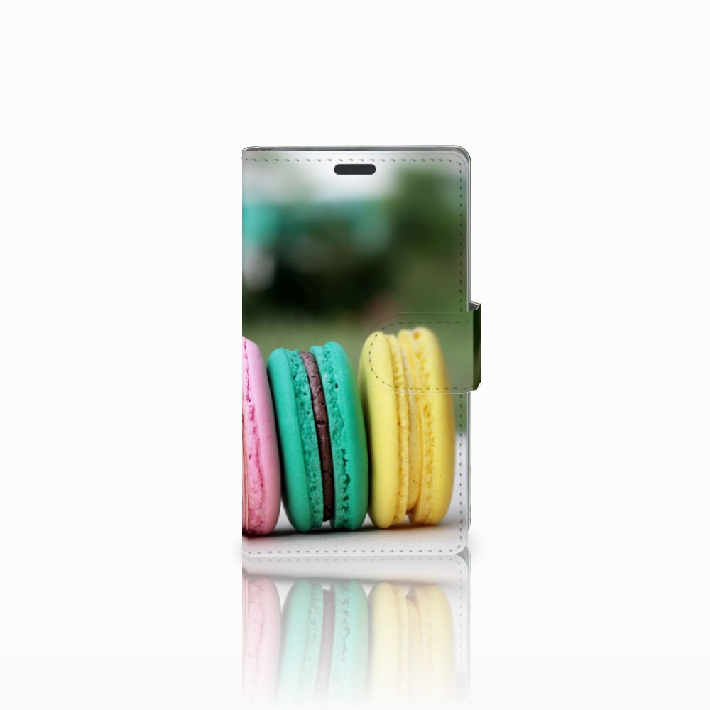 Nokia Lumia 625 Uniek Boekhoesje Macarons