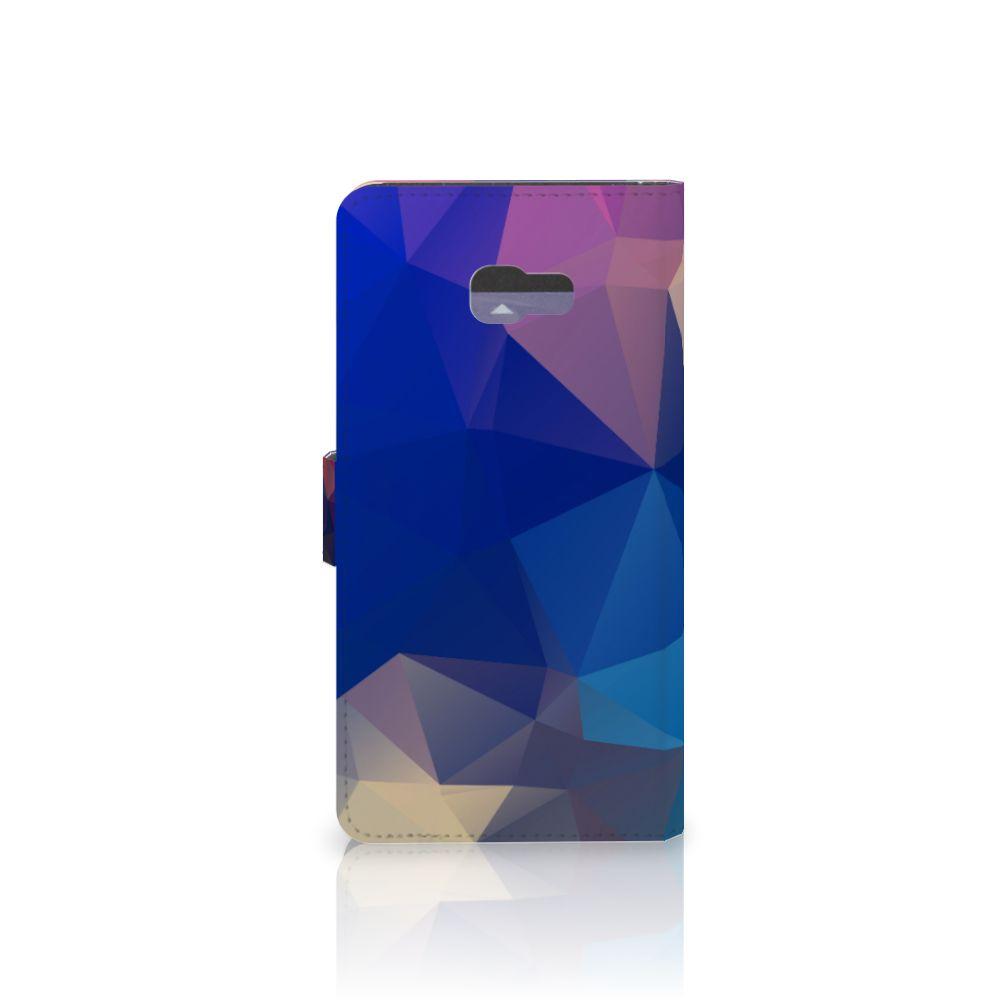 Samsung Galaxy A7 2017 Bookcase Polygon Dark