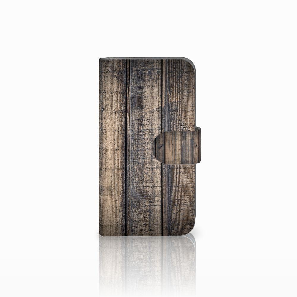 Samsung Galaxy Xcover 3 | Xcover 3 VE Boekhoesje Design Steigerhout