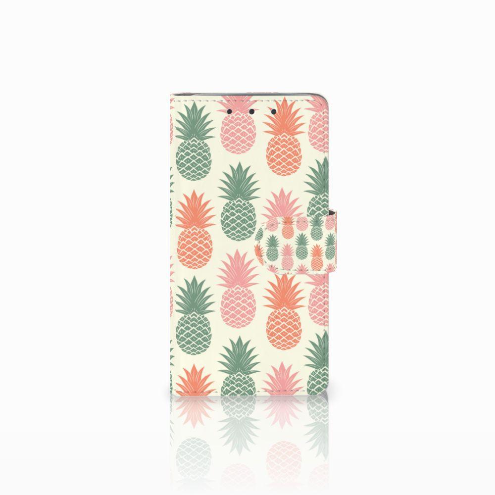 HTC One M7 Boekhoesje Design Ananas