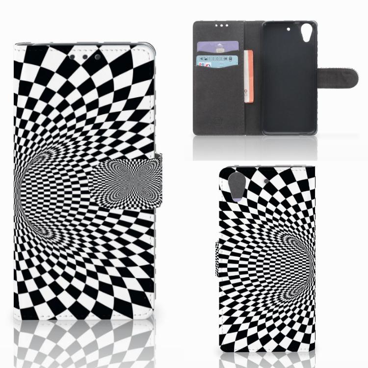 HTC Desire 626 | Desire 626s Bookcase Illusie