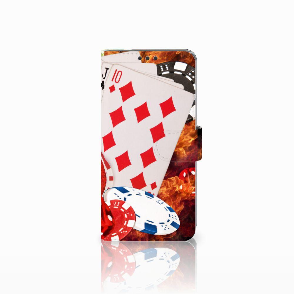 Sony Xperia Z5 Premium Uniek Boekhoesje Casino