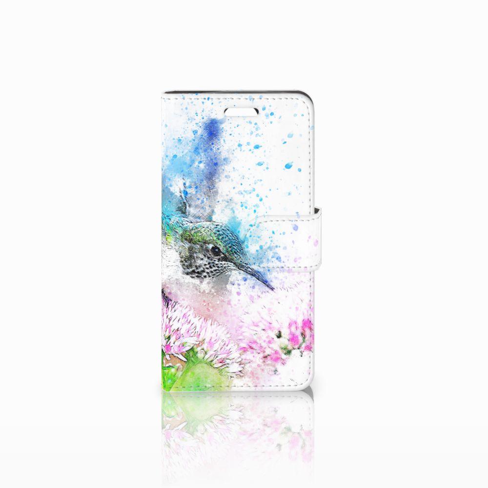 Acer Liquid Z330 Boekhoesje Design Vogel
