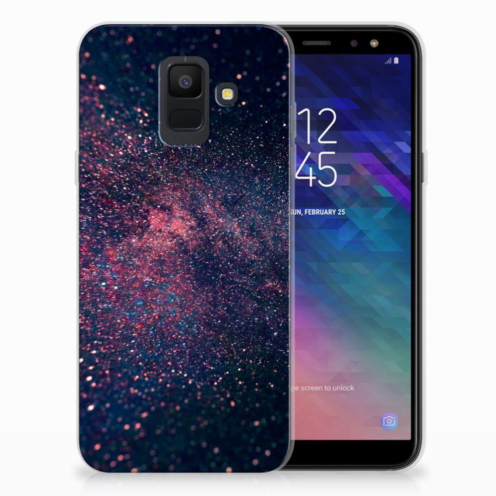 Samsung Galaxy A6 (2018) TPU Hoesje Stars