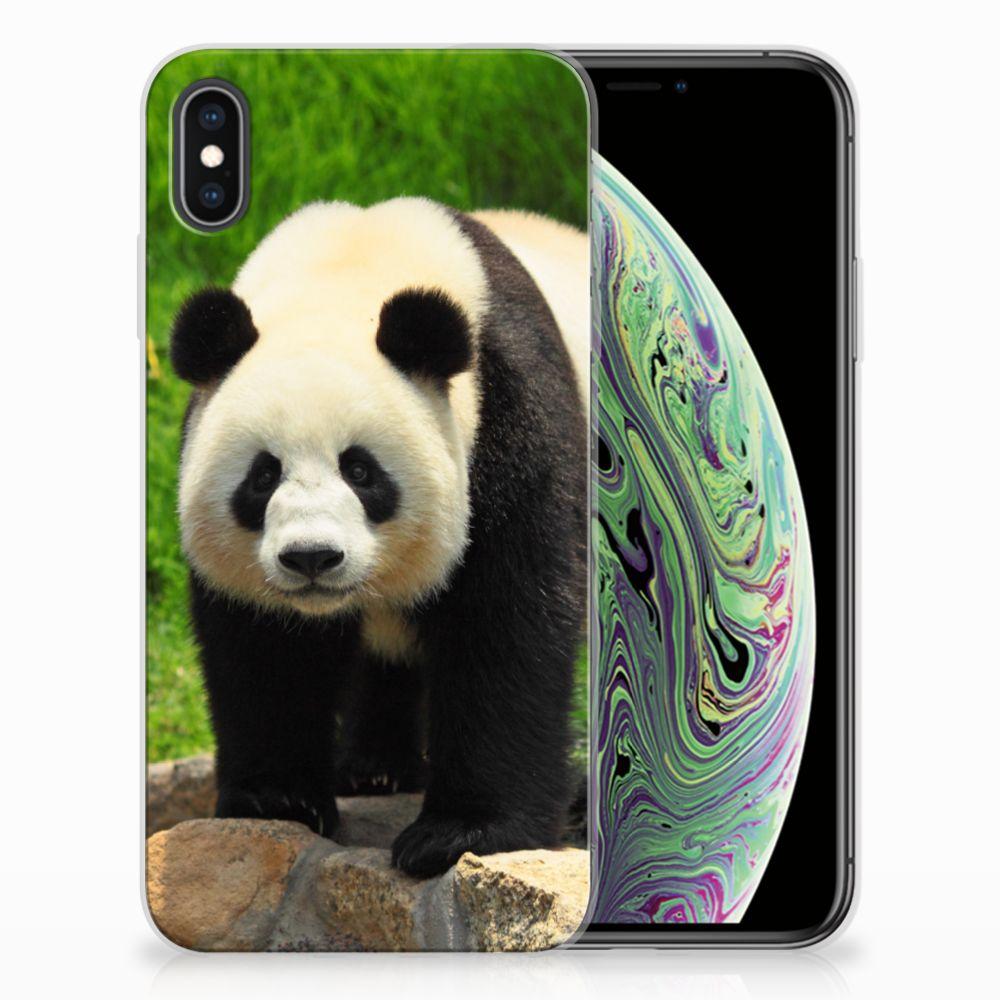 Apple iPhone Xs Max TPU Hoesje Panda