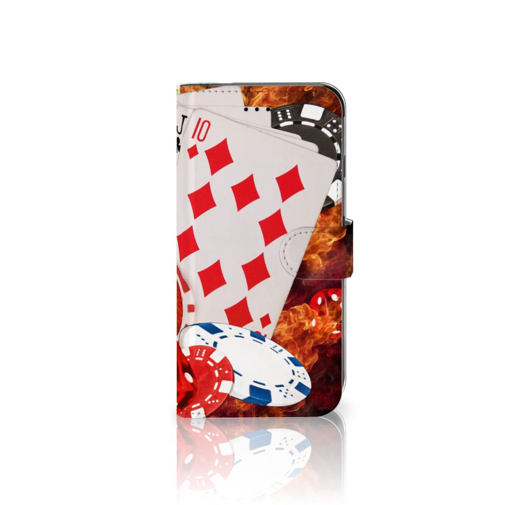 Apple iPhone 6 Plus | 6s Plus Uniek Boekhoesje Casino
