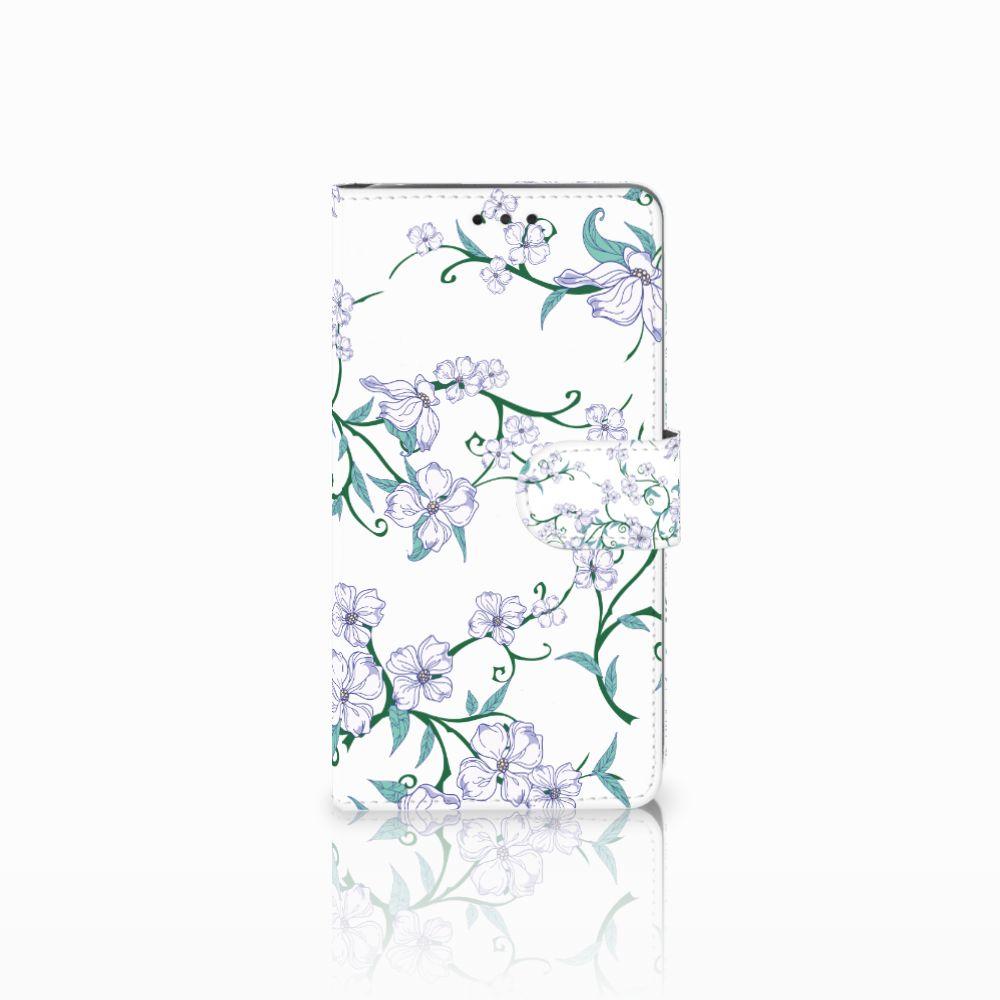 LG G4 Uniek Boekhoesje Blossom White