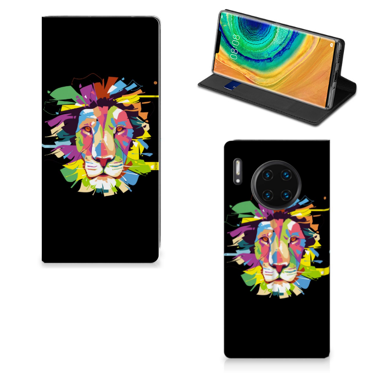 Huawei Mate 30 Pro Magnet Case Lion Color