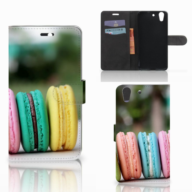 Huawei Y6 II | Honor 5A Book Cover Macarons
