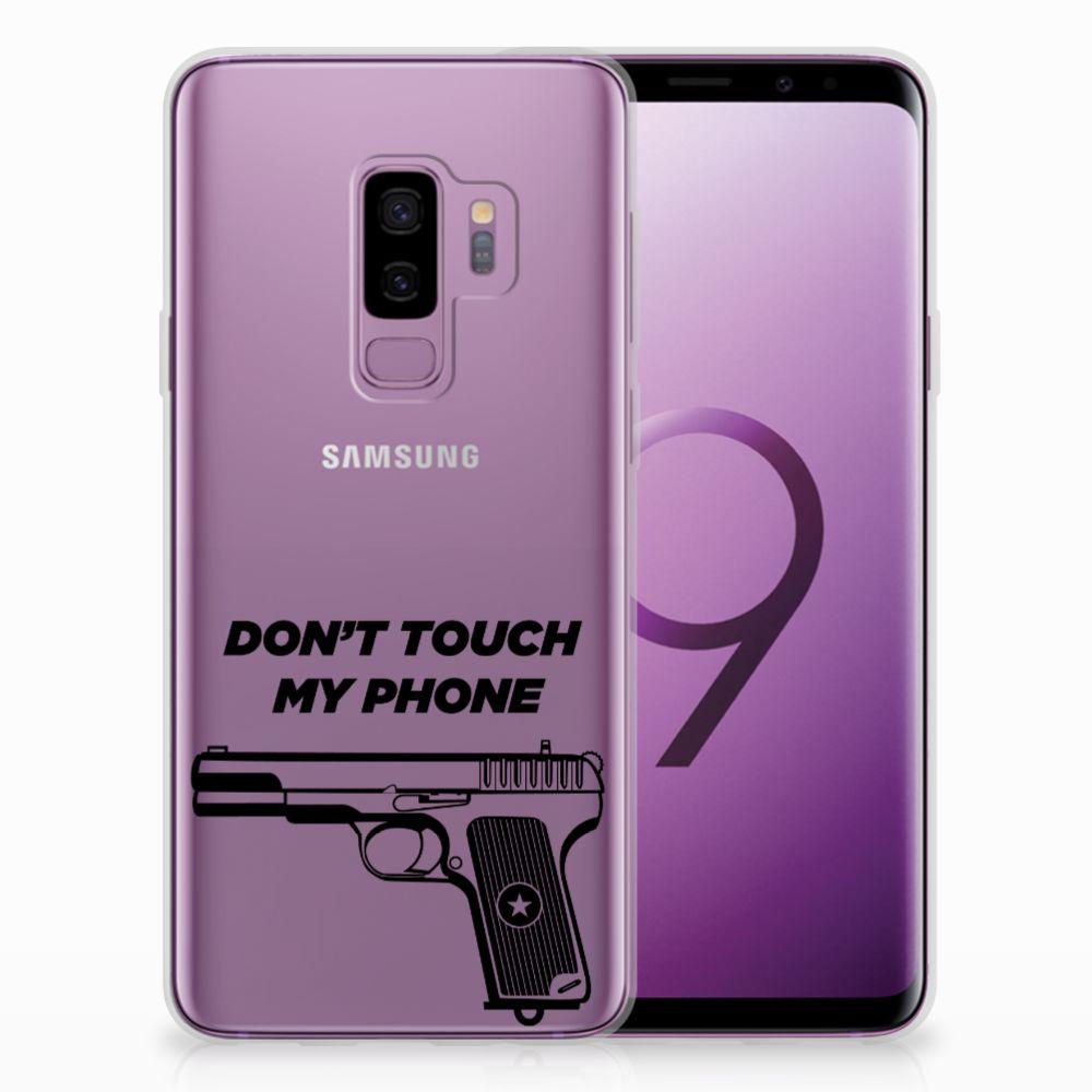 Samsung Galaxy S9 Plus Uniek TPU Hoesje Pistol DTMP