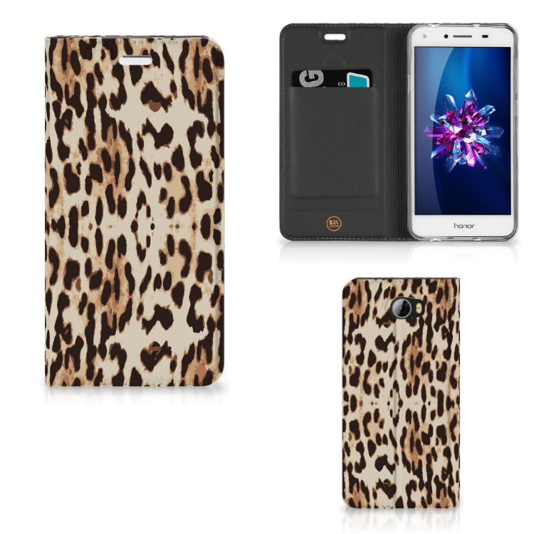 Huawei Y5 2   Y6 Compact Hoesje maken Leopard