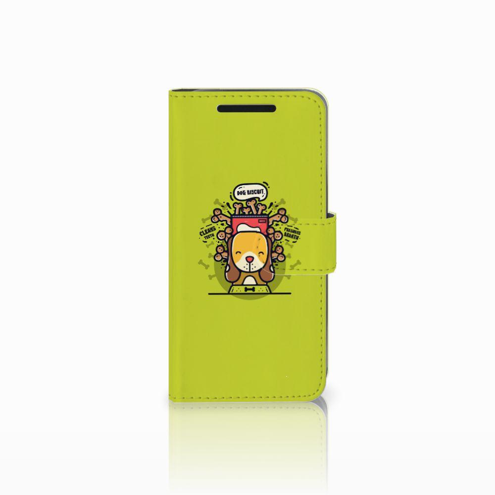 HTC One M9 Boekhoesje Design Doggy Biscuit