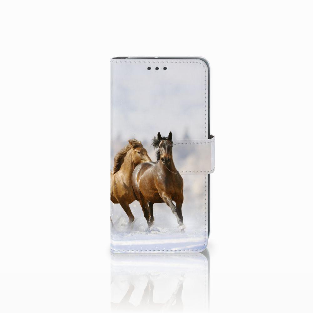 HTC U11 Life Uniek Boekhoesje Paarden