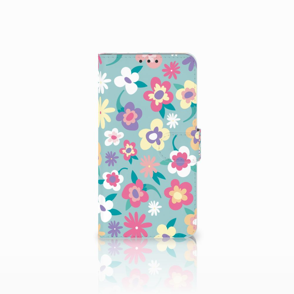 Microsoft Lumia 640 XL Boekhoesje Design Flower Power