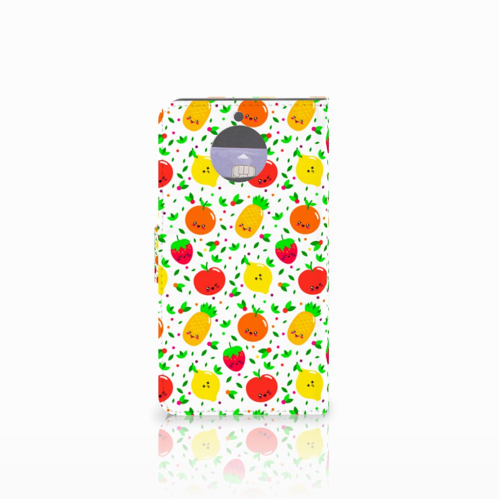Motorola Moto G5S Plus Book Cover Fruits