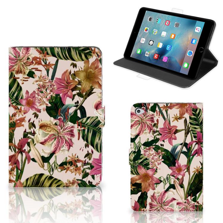 Apple iPad Mini 5 Tablet Cover Flowers