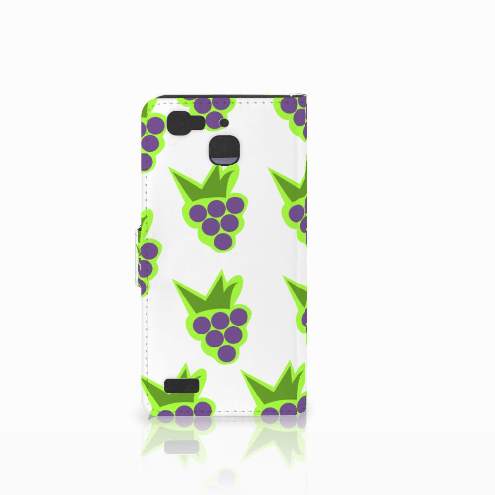 Huawei P8 Lite Smart (GR3) Book Cover Druiven