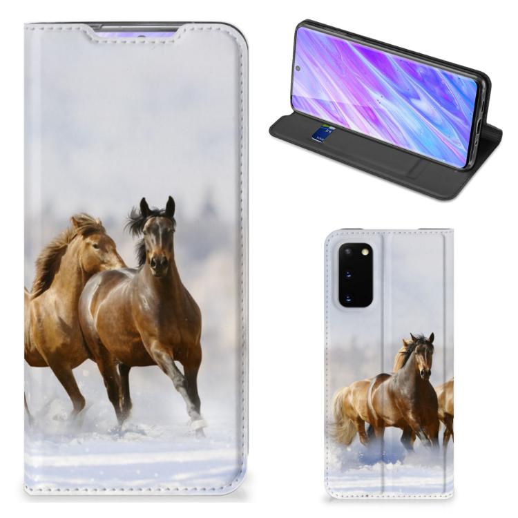 Samsung Galaxy S20 Hoesje maken Paarden