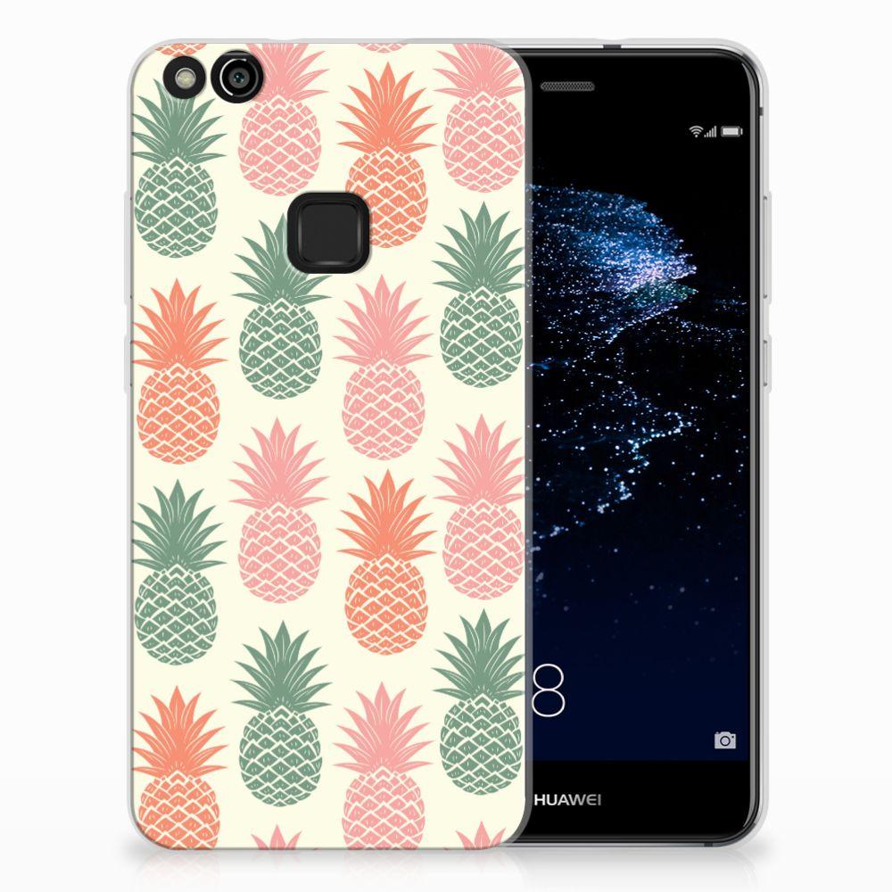 Huawei P10 Lite TPU Hoesje Design Ananas