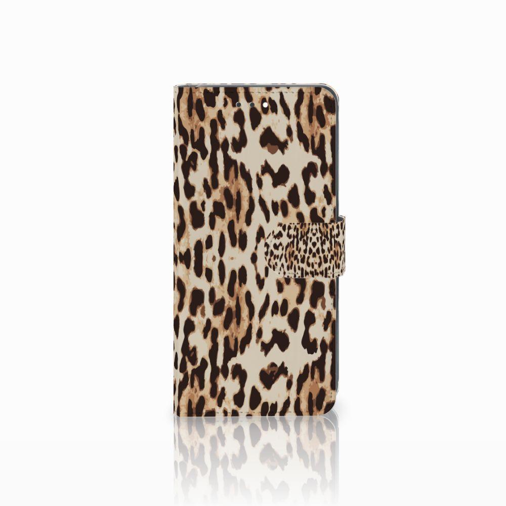 Huawei Y7 2018 Uniek Boekhoesje Leopard