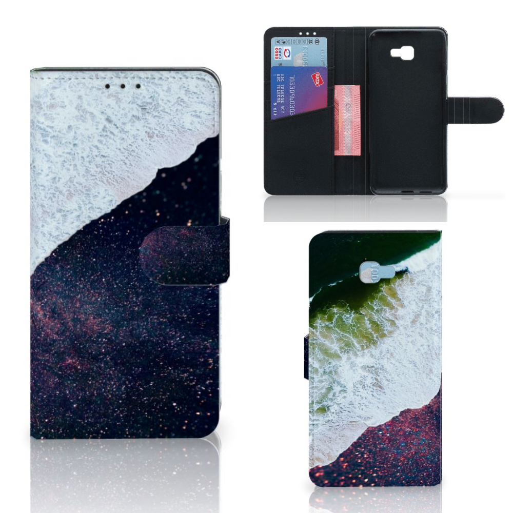 Samsung Galaxy J4 Plus (2018) Bookcase Sea in Space