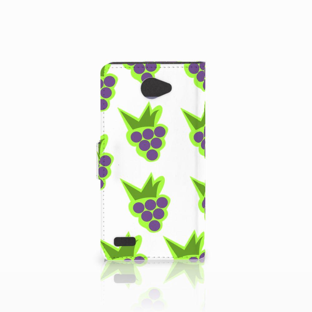 LG Bello 2 Book Cover Druiven
