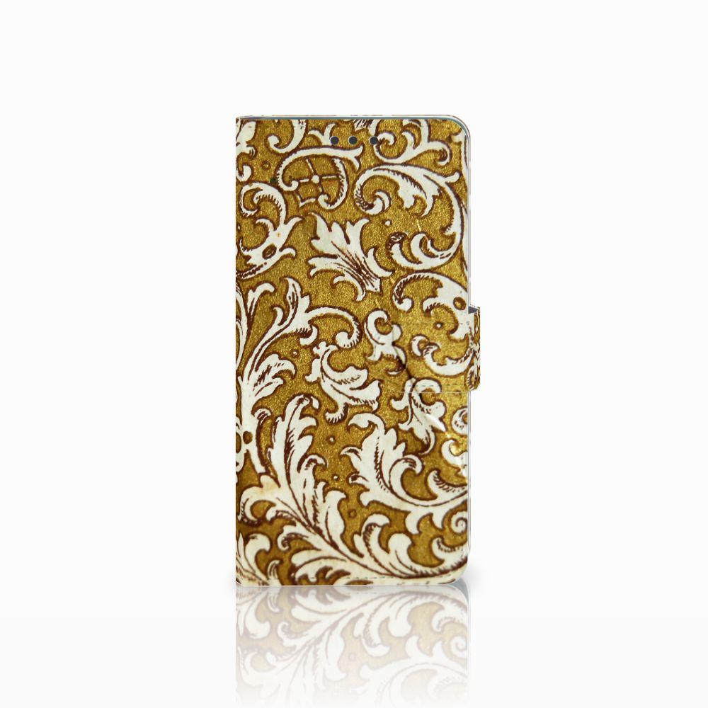 Wallet Case Huawei Mate 20 Barok Goud