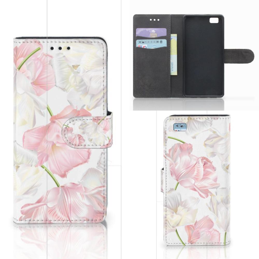 Huawei Ascend P8 Lite Hoesje Lovely Flowers