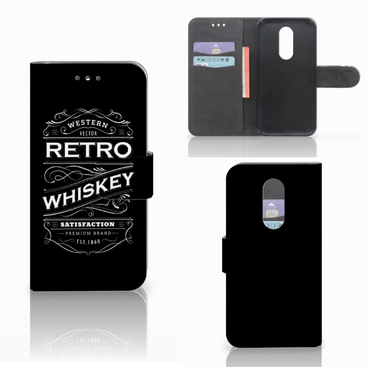 Wiko Wim Lite Book Cover Whiskey