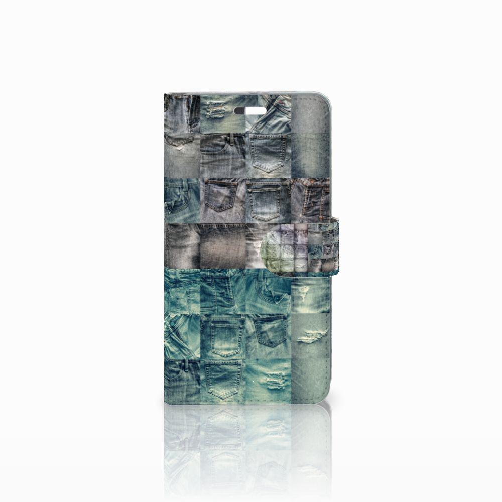 Huawei P9 Plus Uniek Boekhoesje Spijkerbroeken