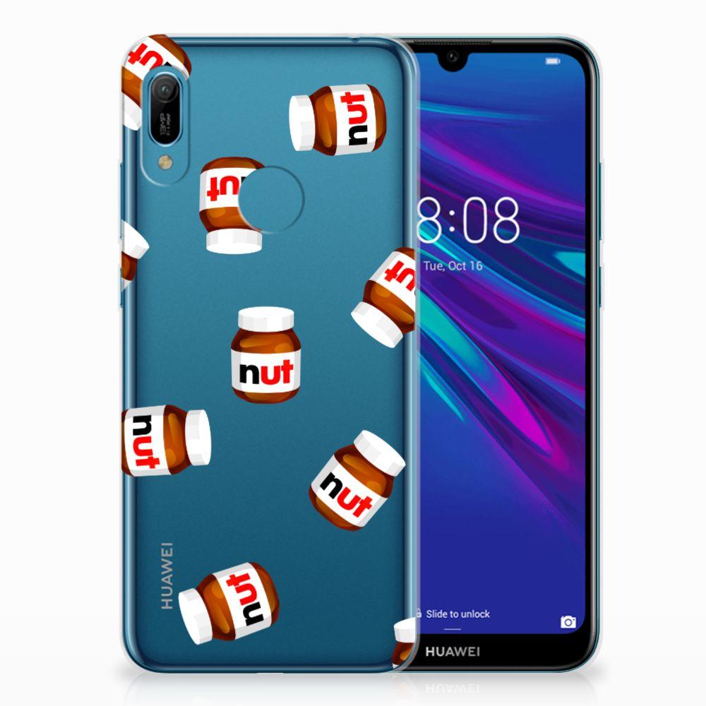 Huawei Y6 2019 | Y6 Pro 2019 Siliconen Case Nut Jar