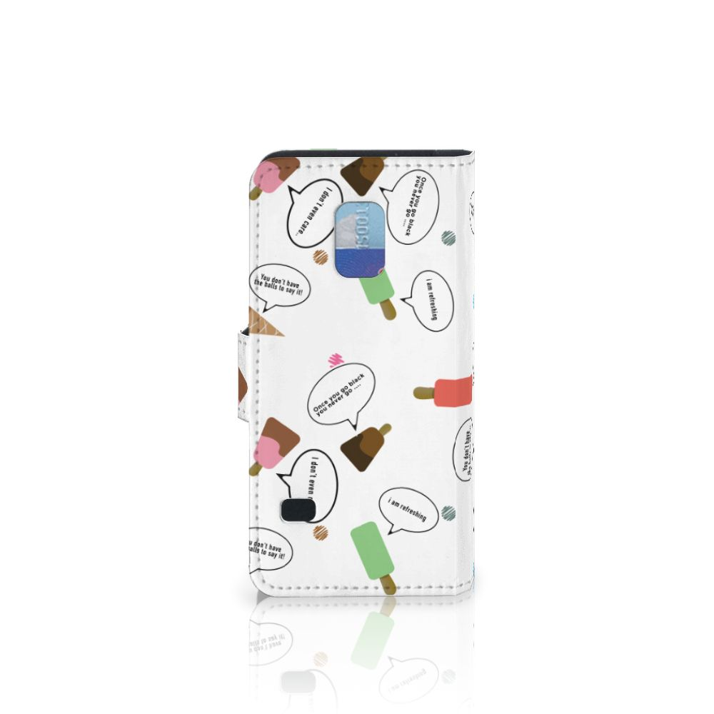 Samsung Galaxy S5 Mini Book Cover IJsjes