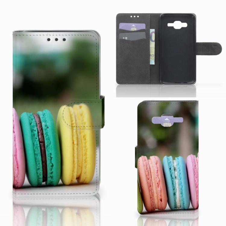 Samsung Galaxy J5 (2015) Book Cover Macarons