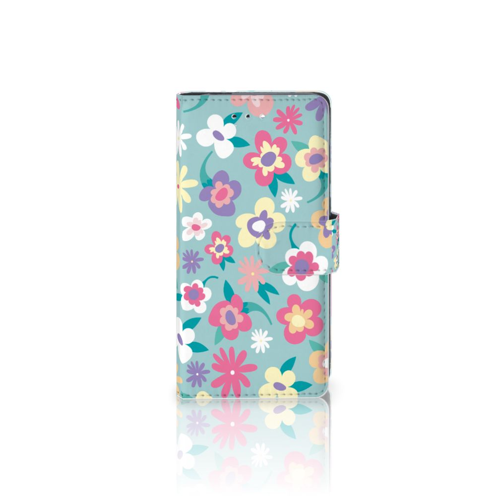 Huawei P9 Boekhoesje Design Flower Power