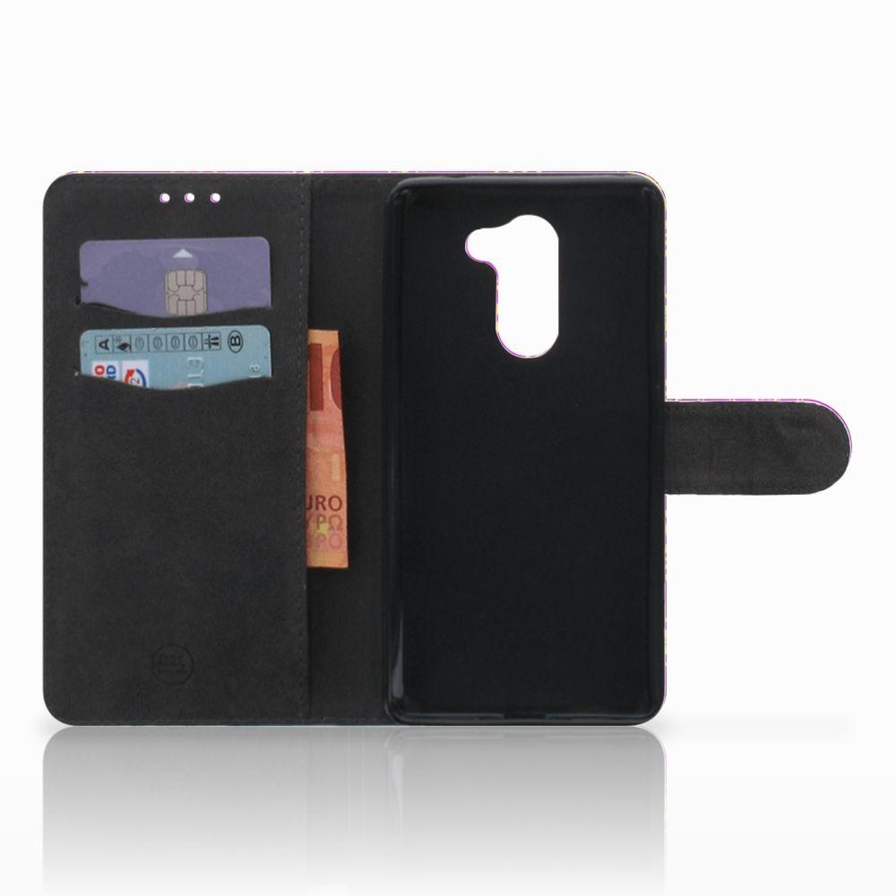 Wallet Case Huawei Honor 6X Barok Roze