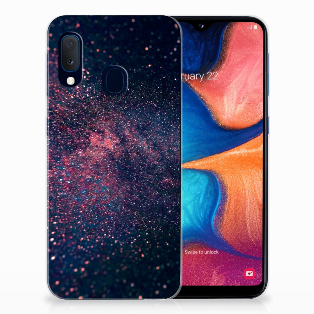 Samsung Galaxy A20e TPU Hoesje Stars