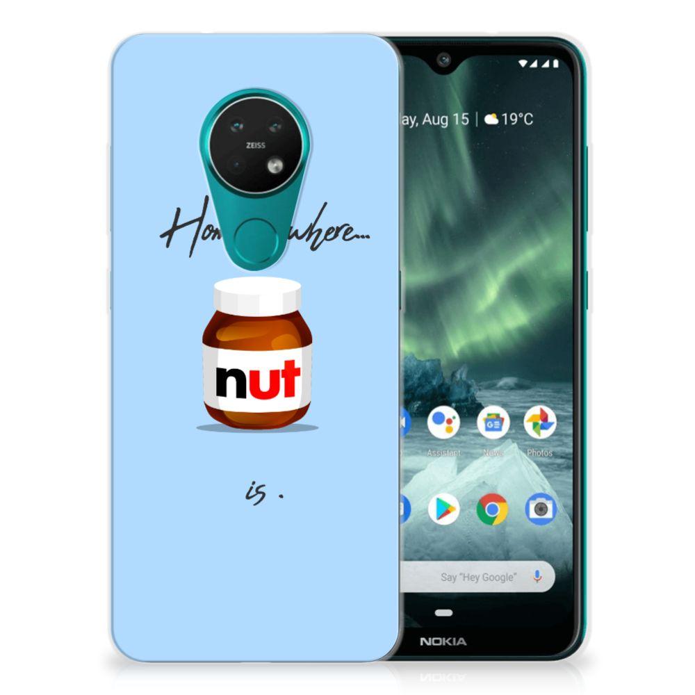 Nokia 7.2 | 6.2 Siliconen Case Nut Home