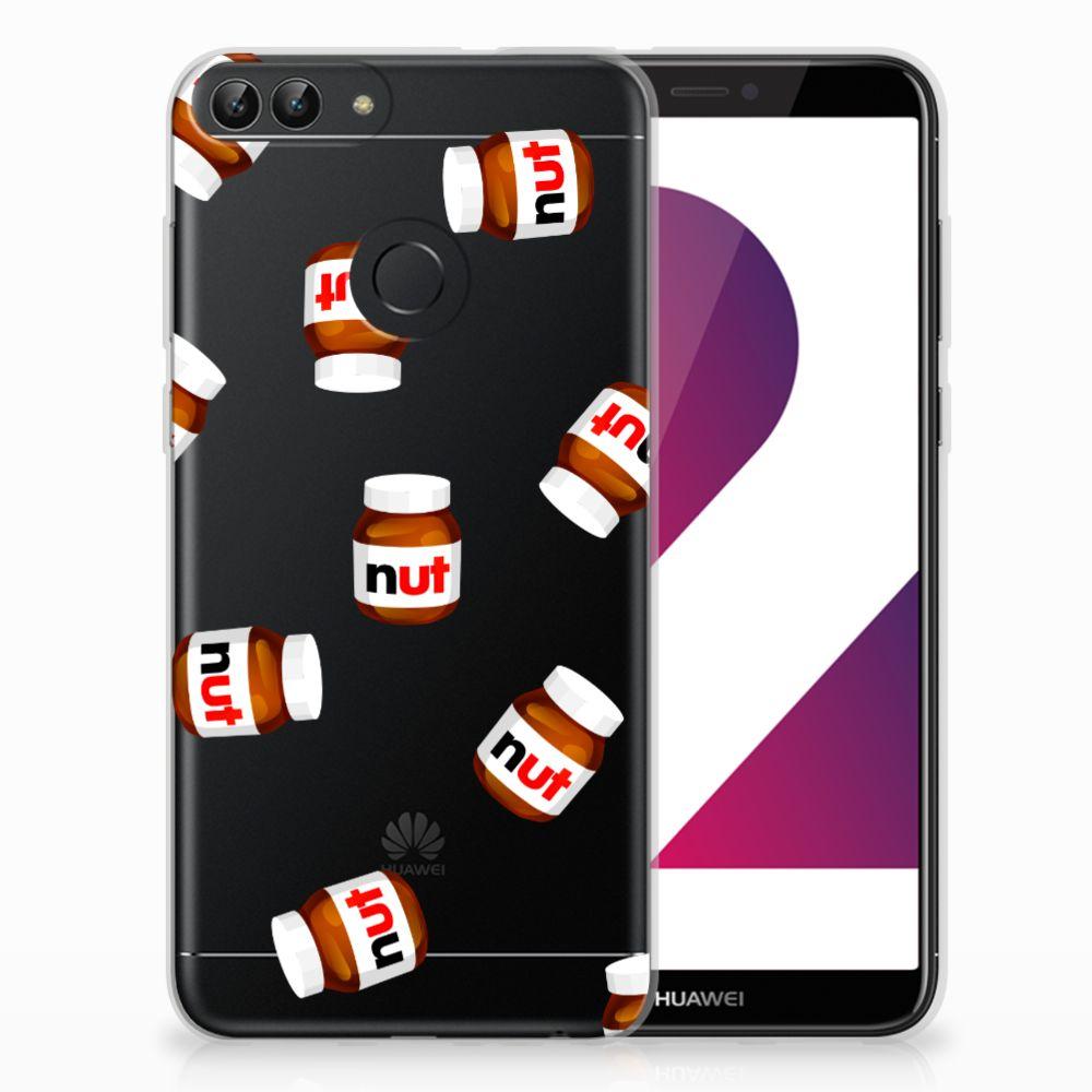 Huawei P Smart Siliconen Case Nut Jar