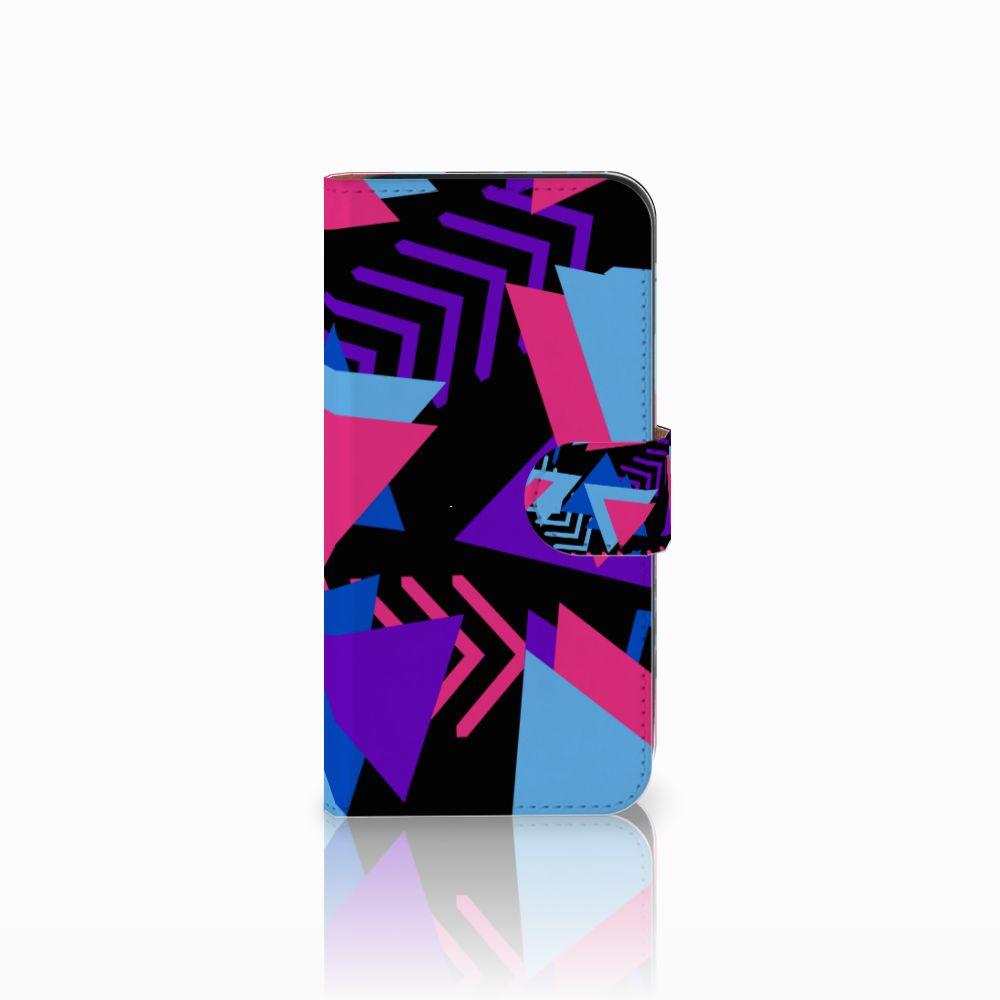 Samsung Galaxy E5 Bookcase Funky Triangle