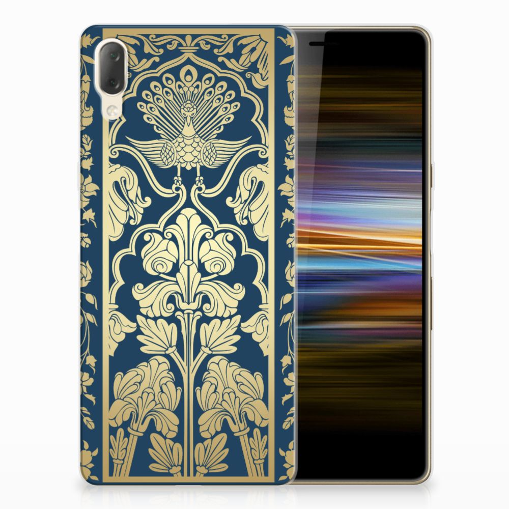 Sony Xperia L3 TPU Case Golden Flowers