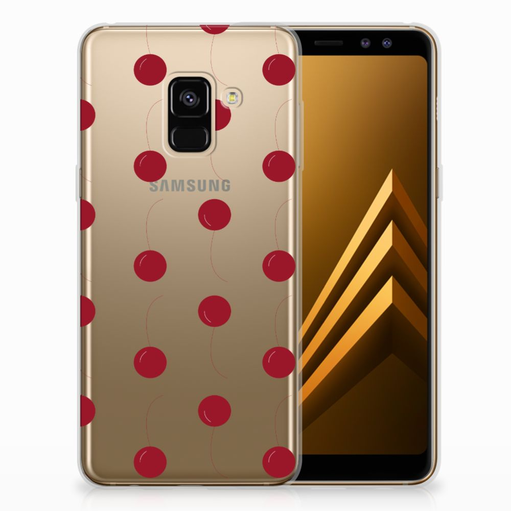Samsung Galaxy A8 (2018) TPU Hoesje Design Cherries