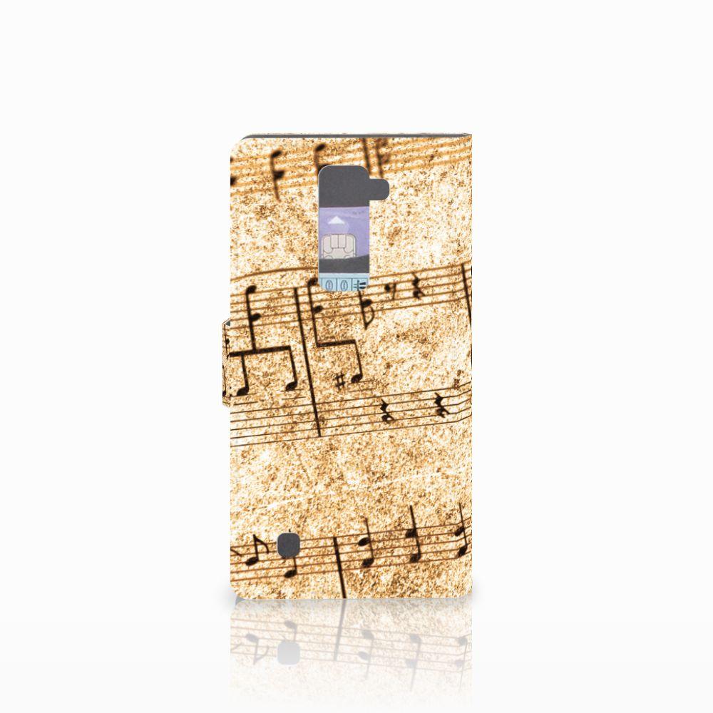 LG K10 2015 Telefoonhoesje met foto Bladmuziek