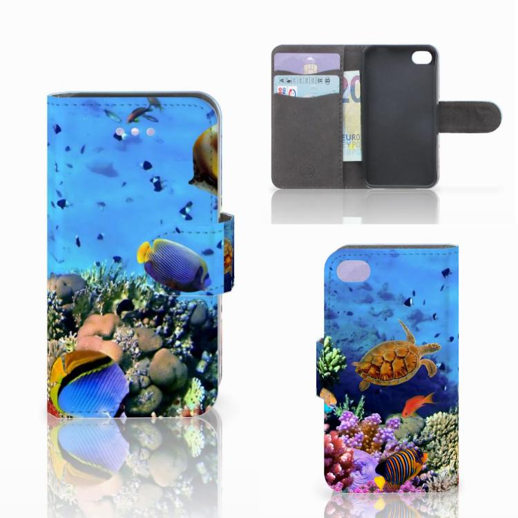 Apple iPhone 4 | 4S Telefoonhoesje met Pasjes Vissen