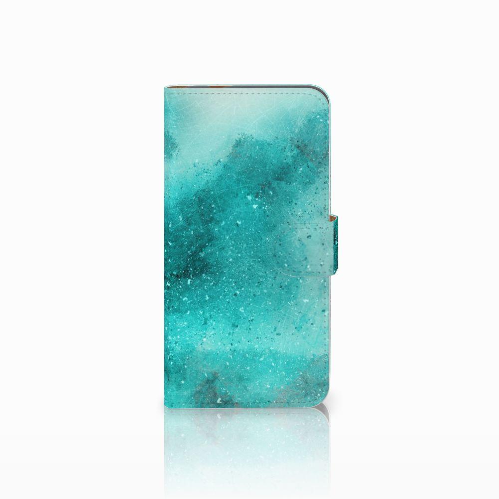 Hoesje Huawei Nova Plus Painting Blue
