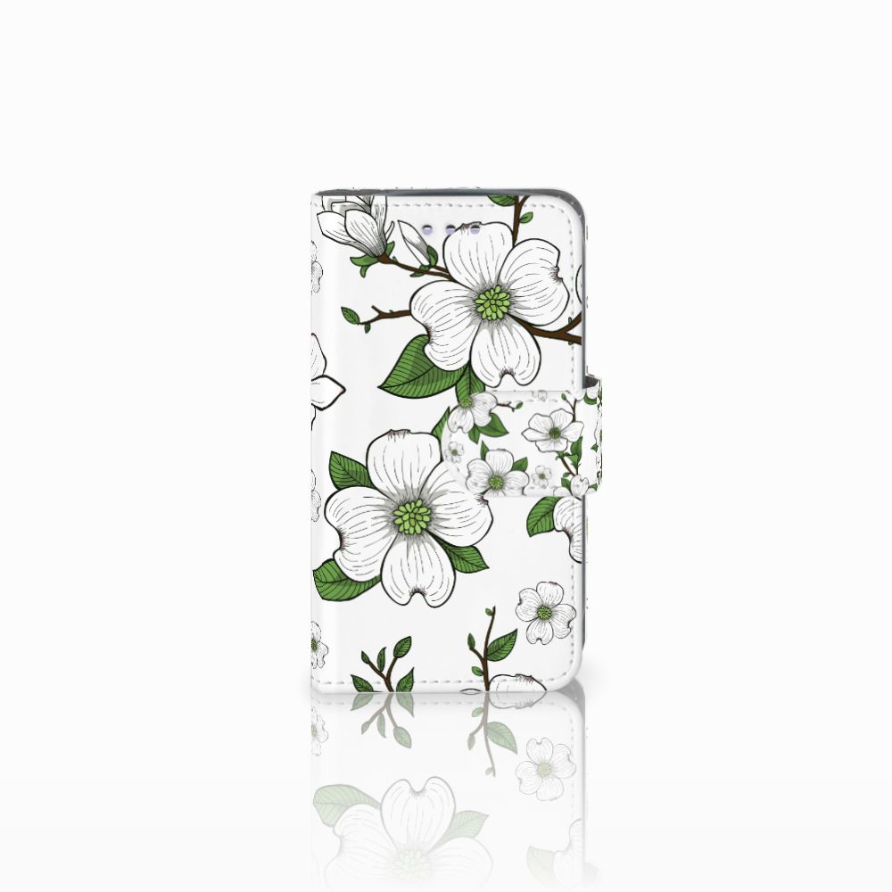 Samsung Galaxy S3 Mini Boekhoesje Design Dogwood Flowers