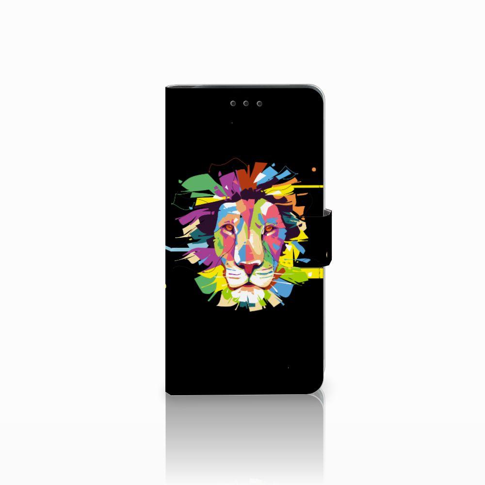 Samsung Galaxy J6 Plus (2018) Leuke Hoesjes Lion Color