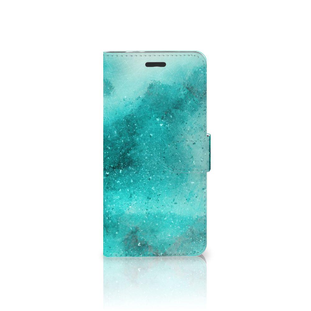 Hoesje Motorola Moto Z Painting Blue