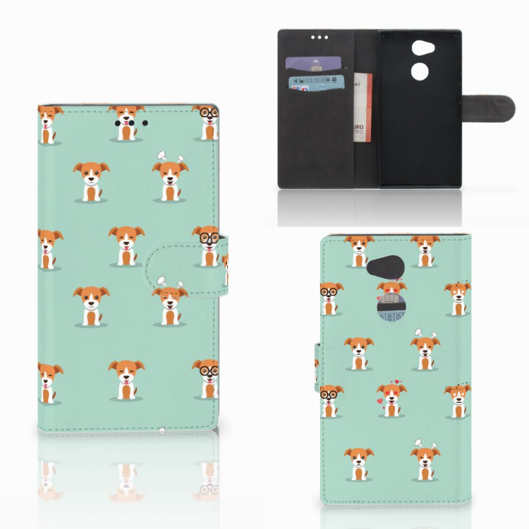 Sony Xperia L2 Telefoonhoesje met Pasjes Pups