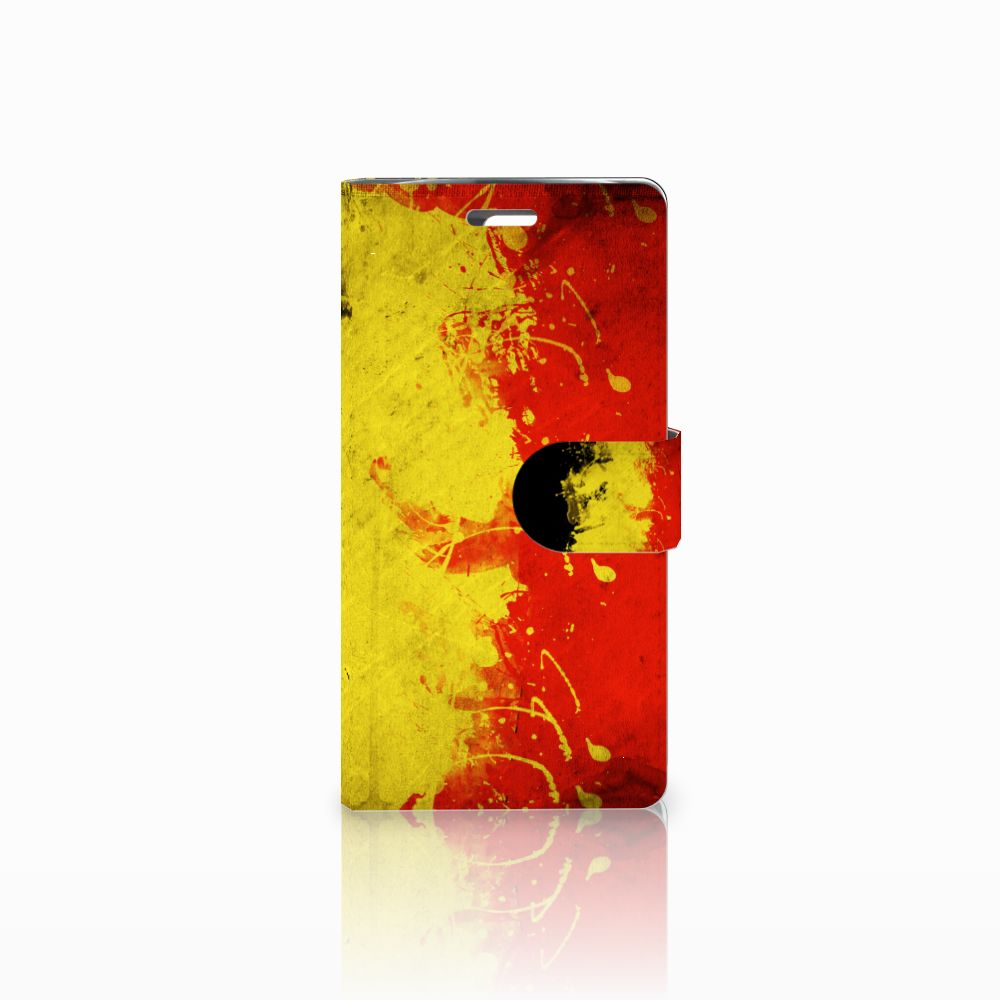 LG K10 2015 Boekhoesje Design Belgische Vlag