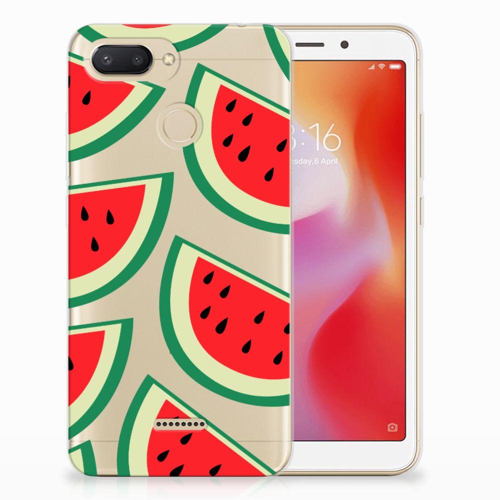 Xiaomi Redmi 6 Siliconen Case Watermelons